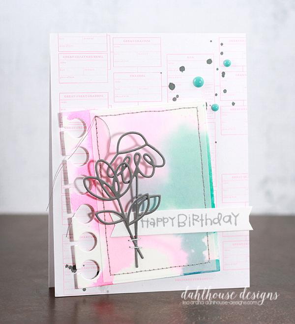 dahlhouse designs | 8.30.2015 birthday blooms